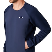 Enhance Qd Fleece Crew 9.7 - Foggy Blue