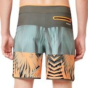 Palm Geometric Print Boardshort 19'' - Autumn Glory Palm