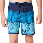 Palm Geometric Print Boardshort 19''