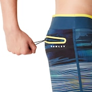 "Optical Print Boardshort 21"" - Foggy Blue"