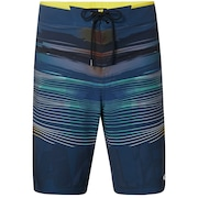 "Optical Print Boardshort 21"" - Foggy Blue"