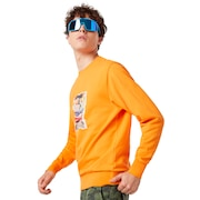 Sunglass Print Crewneck - Autumn Glory