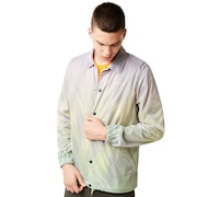 Instacop Sunset Coaches Jacket - Neon Green