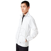 Pc Dry Explosion Cloth Jacket - White