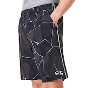 Pc Dry Explosion Shorts 9Inch - Black Print