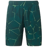 Pc Dry Explosion Shorts 9Inch - Green Print