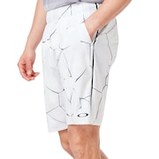 Pc Dry Explosion Shorts 9Inch - White Print