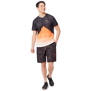 Pc Dry Explosion Shorts 9Inch - Gunmetal Print