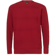 Skull Sinuous Sweater Crew - Raspberry