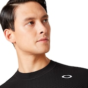 Skull Sinuous Sweater Crew - Blackout