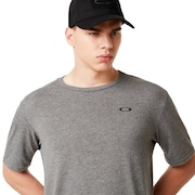 SI Oakley Flag Tee - Athletic Heather Gray