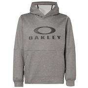 Enhance Grid Fleece Hoody 9.7 - Dark Gray Heather