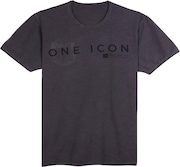 Camiseta Especial Factory Reversible Washed Sp Tee - Blackout