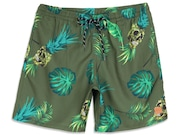 Bermuda Para Água Tropical Trunk Shorts - Moss Green