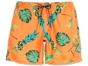 Bermuda Para Água Tropical Trunk Shorts - Orange