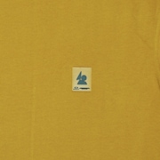 Patch Long Sleeve Tee OSR - Mustard