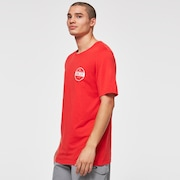 Static 1975 SS Tee - High Risk Red