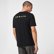 Oakley Single Stripe SS Tee - Blackout