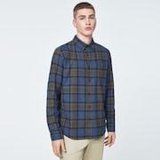Checked Woven Long Sleeve Shirt 1