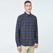 Checked Woven Long Sleeve Shirt 1
