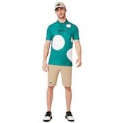 Staple Short Sleeve Polo Shirt - Staple Bubble Green