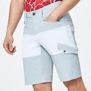 Skull Attract Cargo Shorts - Gray Slate