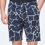 Skull Breathable Shorts 3.0 - Gunmetal Print