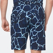 Skull Breathable Shorts 3.0 - Blue Storm Print