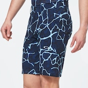 Skull Breathable Shorts 3.0 - Blue Storm Print