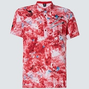 Skull Aberration Shirts - Red Print