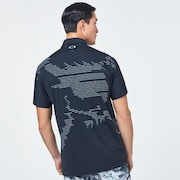 Skull Rear Message Shirts - Blackout