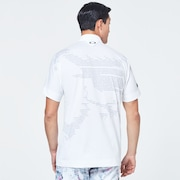 Skull Rear Message Shirts - White
