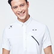 Skull Rear Message Shirts - White