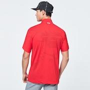 Skull Rear Message Shirts - Red Light