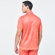 Skull Liquid Polo - Ad Burnt Orange