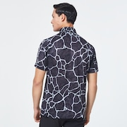 Skull Breathable Graphic Shirts 2.0 - Black Print