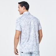 Skull Breathable Graphic Shirts 2.0 - White Print
