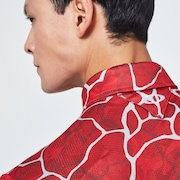 Skull Breathable Graphic Shirts 2.0 - Red Print