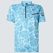Skull Breathable Graphic Shirts 2.0 - Sky Blue Print