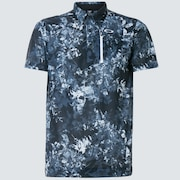Skull Full Bloom Shirts - Black Print