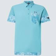 Skull Plant Bloom Shirts - Powder Blue