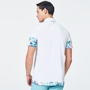 Skull Plant Bloom Shirts - White