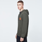 O-Grip Logo Fz Hoodie - New Dark Brush