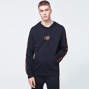 O-Grip Tape Hooded Fleece - Blackout