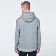 O-Grip Tape Hooded Fleece - Athletic Heather Gray