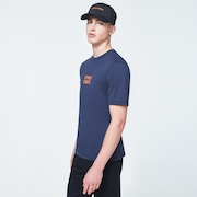 Bold O-Grip Short Sleeve Tee - Foggy Blue