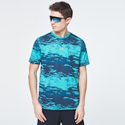 Water Print Short Sleeve Tee