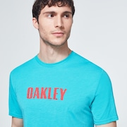 Oakley Stars Short Sleeve Tee - Wave Blue