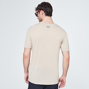 Ellipse Camo Lines Short Sleeve Tee - Safari