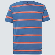 Six Stripes Short Sleeve  Tee - Interstellar Blue